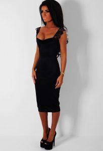 Black Midi Dresses