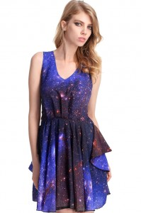 Black Milk Galaxy Dress