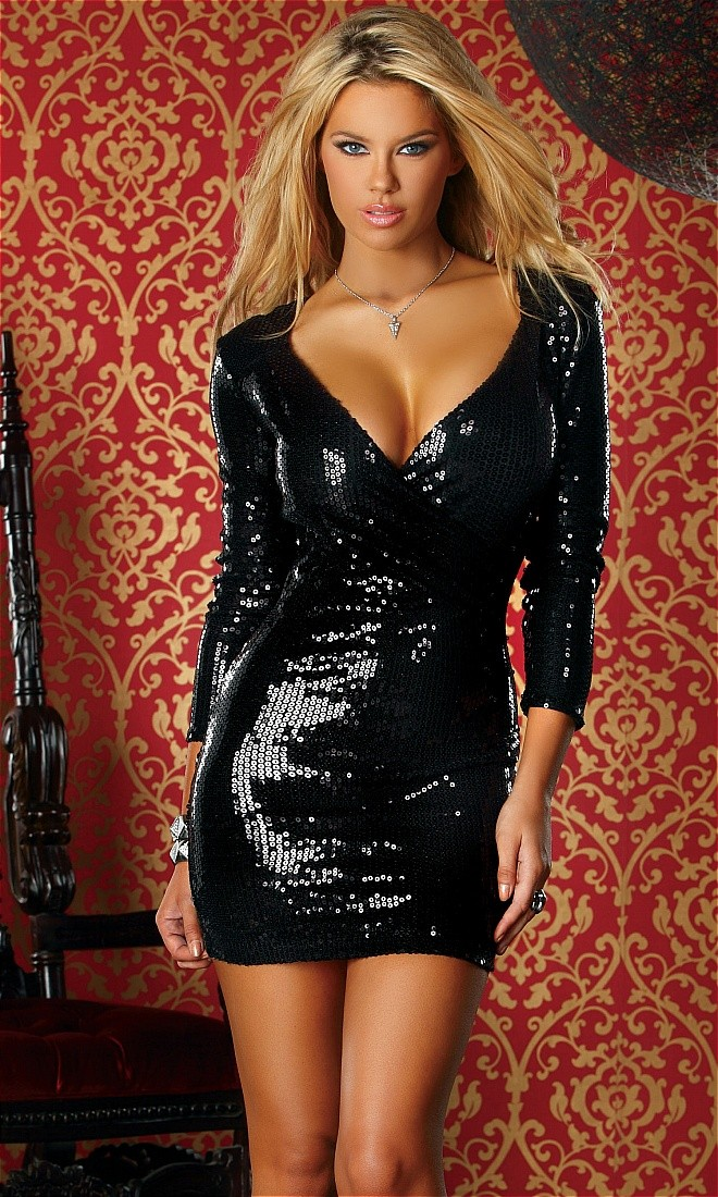 Sequin Mini Dress  Dressed Up Girl