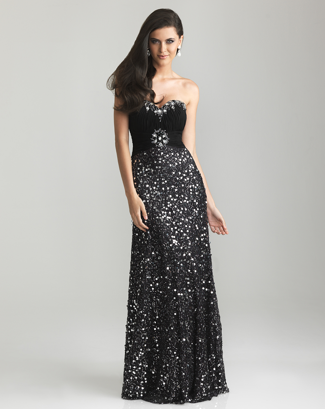 Sequin Prom Dresses | Dressed Up Girl