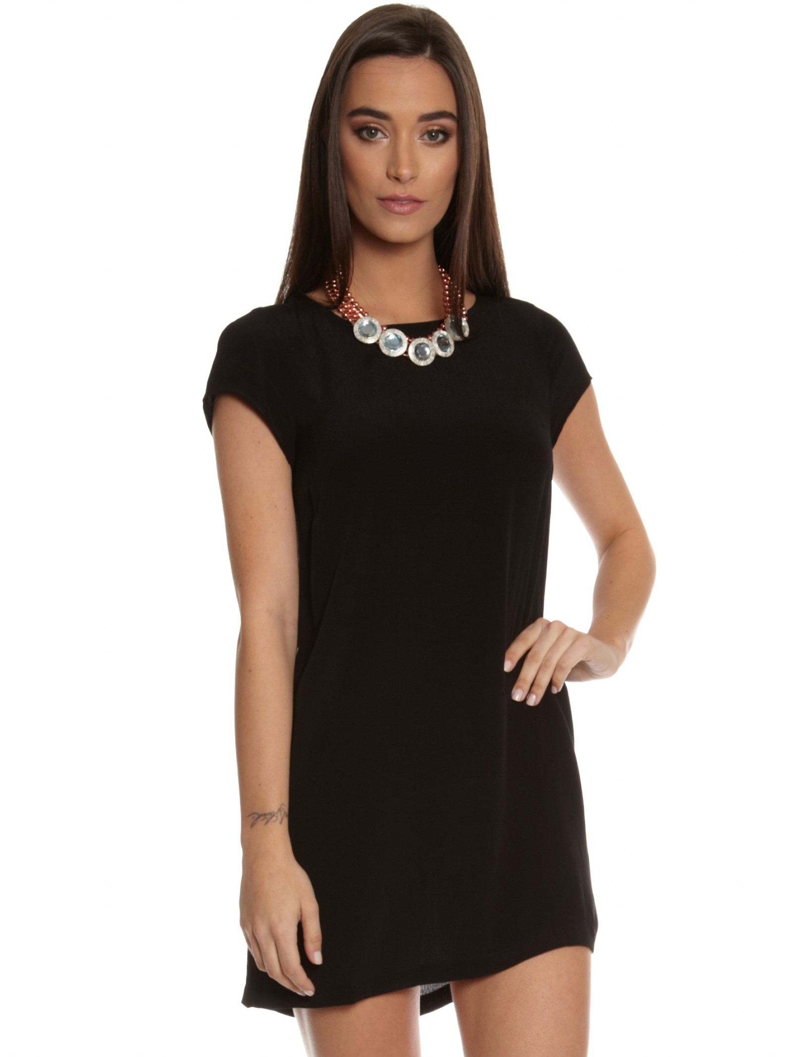 Cool Black Maternity ShirtDress