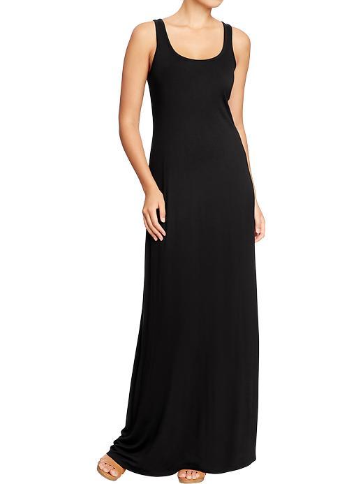 Black Long Tank Dress