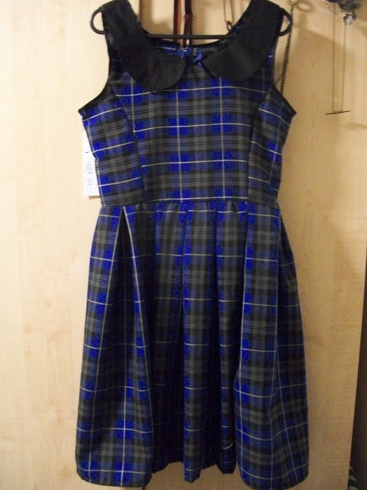 Plaid Dress Picture Collection Dressedupgirl Com