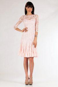 Blush Lace Dresses