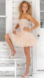 Blush Short Dress