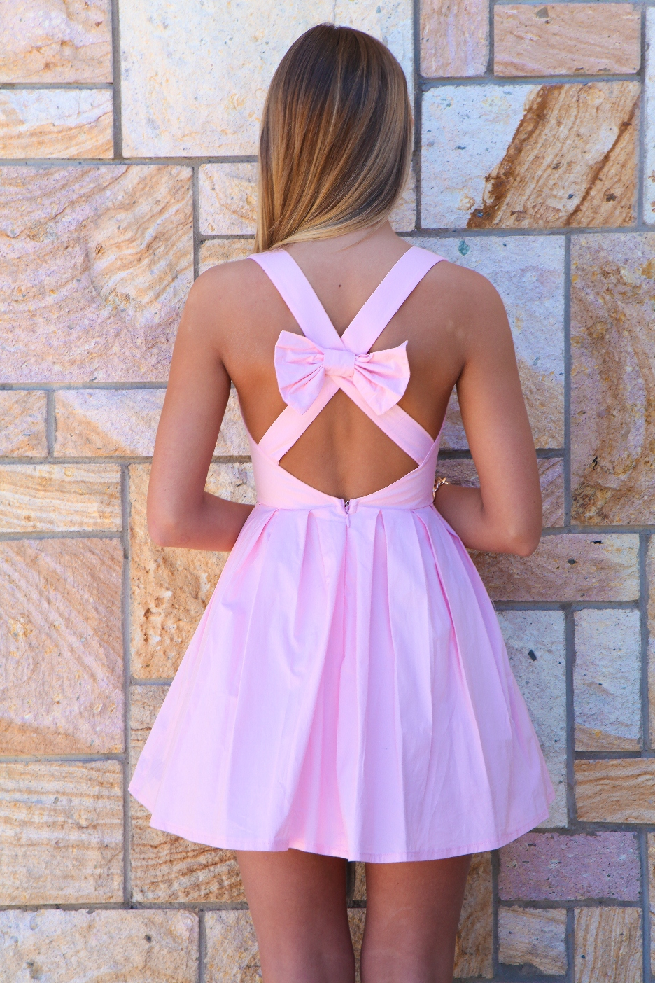 Bow Back Dress Picture Collection Dressedupgirl Com