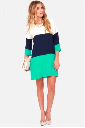 color block dress picture collection dressed up girl