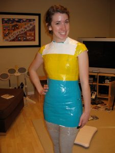 Duct Tape Dress Designs