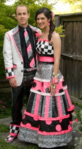 Duct Tape Dresses for Prom