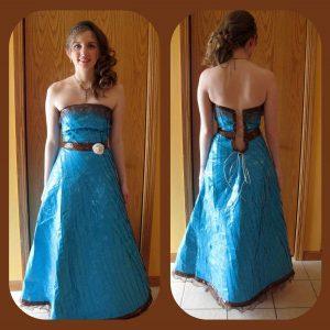 Duct Tape Wedding Dress