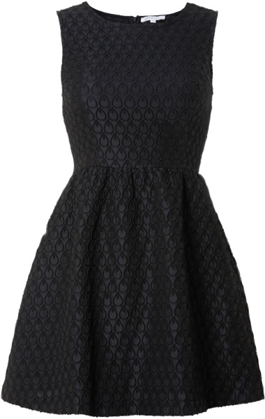 Black Fit And Flare Dress Picture Collection Dressed Up Girl
