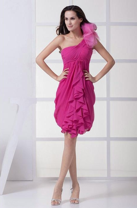 Fuschia Dress Picture Collection Dressedupgirl Com