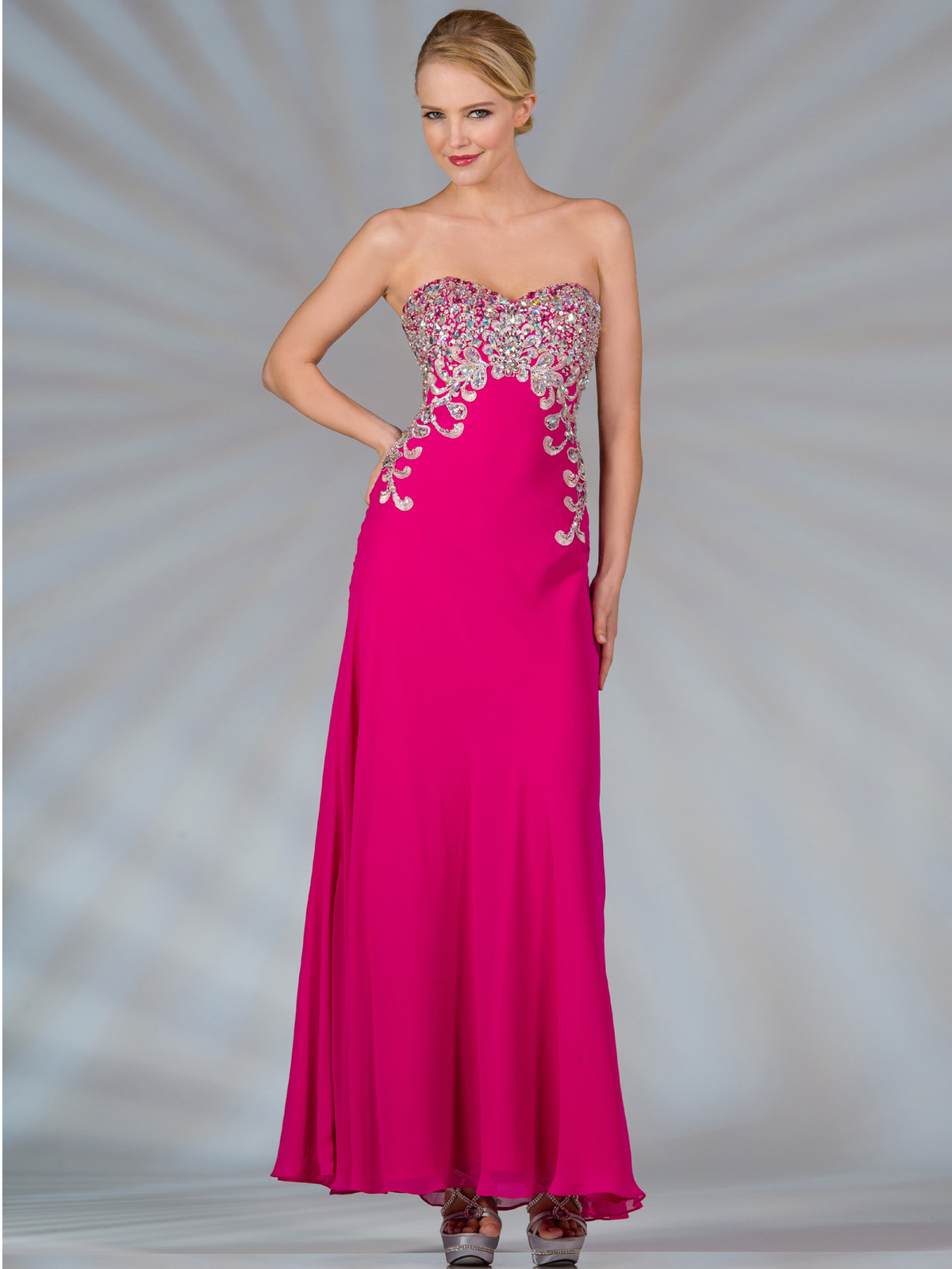 Dress: Fuschia Dress Picture Collection