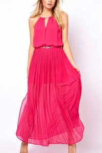 Fuschia Maxi Dress