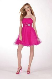Fuschia Pink Dress
