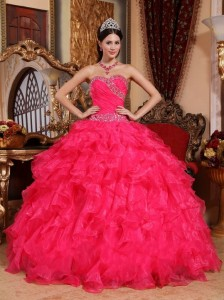 Fuschia Quinceanera Dresses