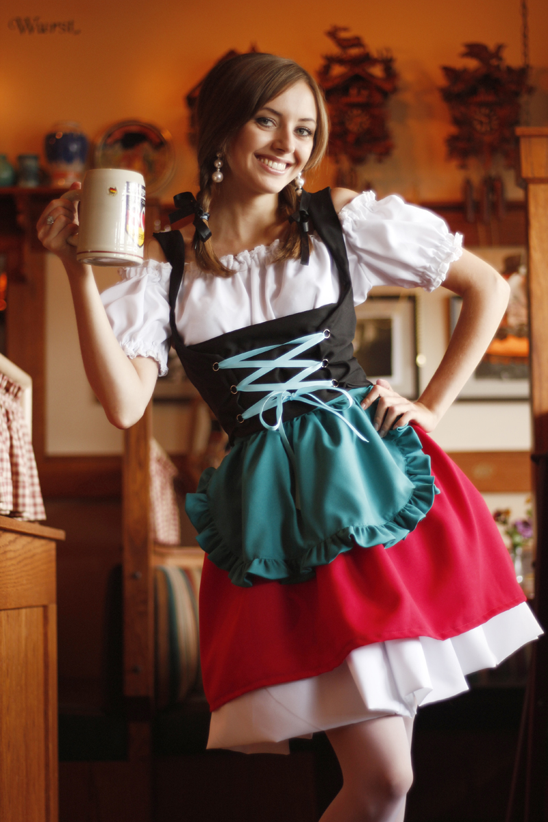 dirndl dress picture collection dressed up girl