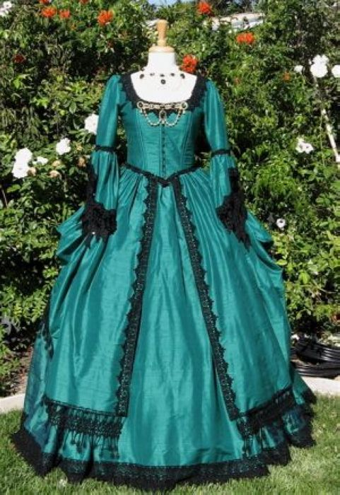 Victorian Dress Dressed Up Girl