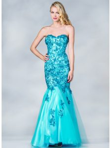 Long Sequin Prom Dress