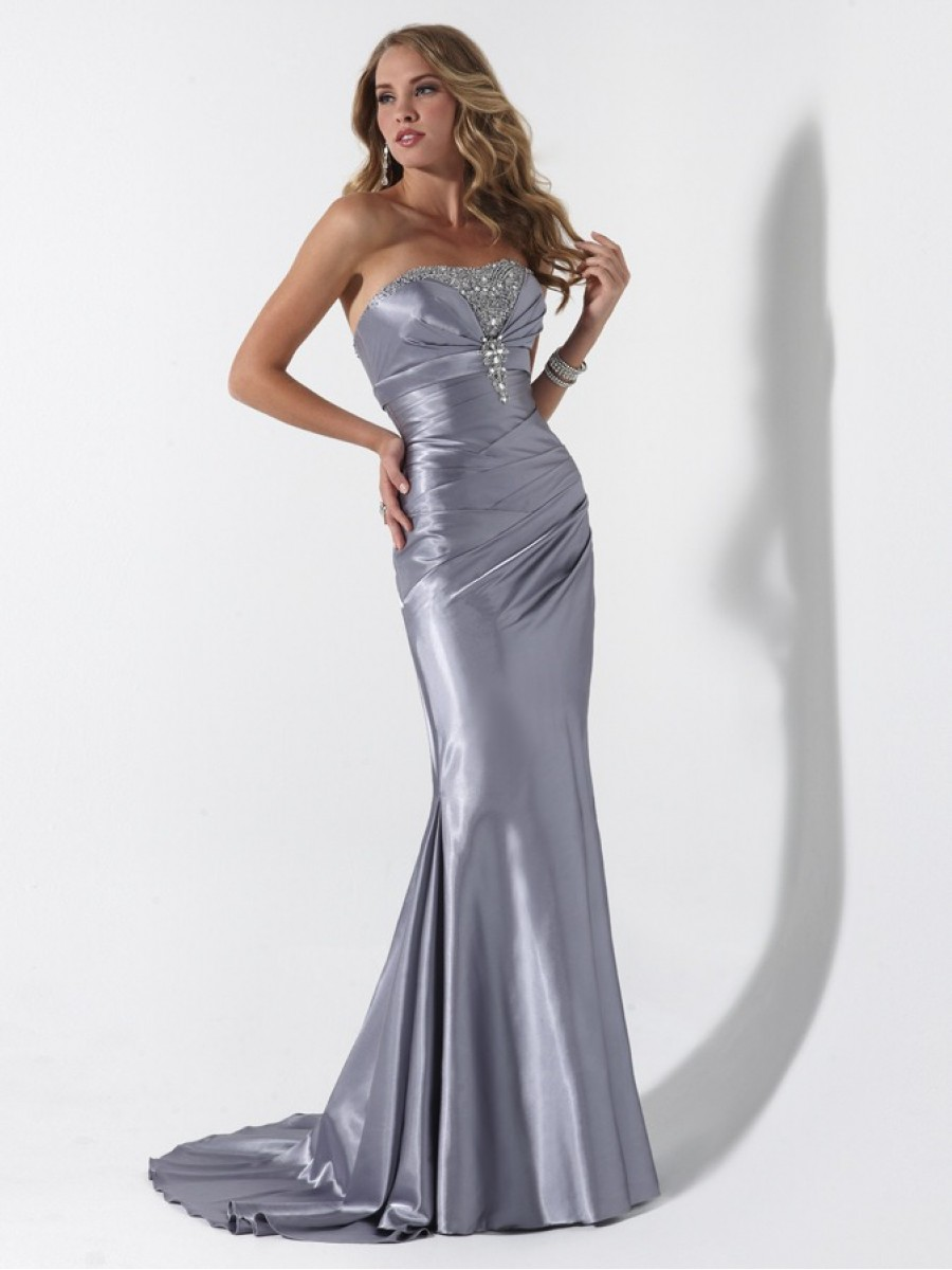 Dress: Silver Dress Picture Collection
