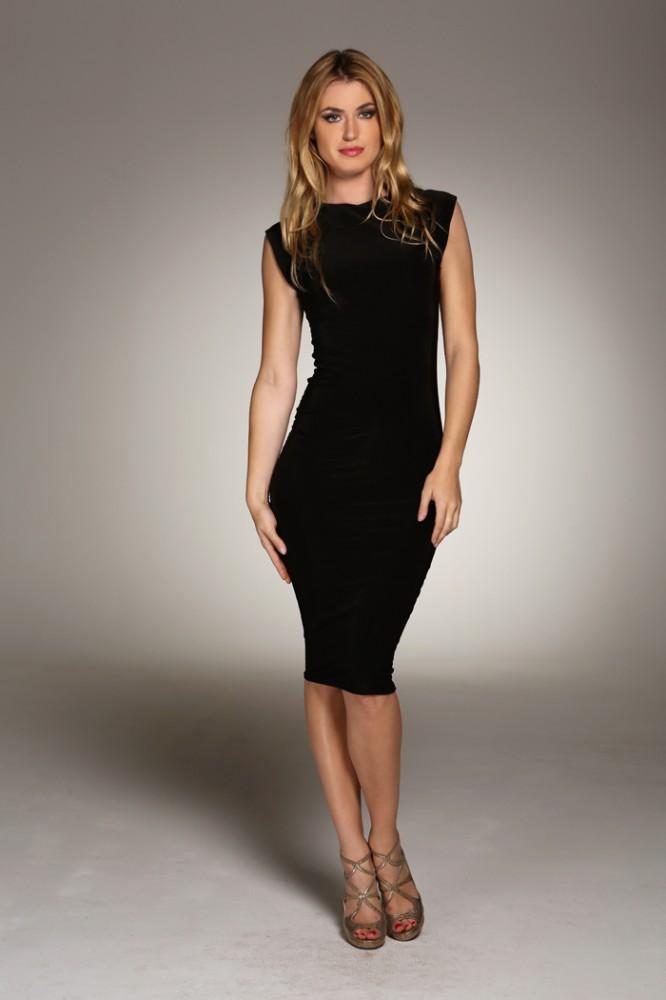 The Little Black dress | Marilyn Dress Skater Style Scuba