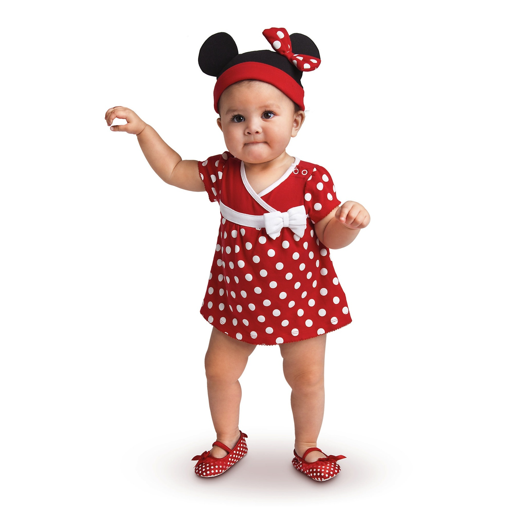 the gallery for red minnie mouse costume toddler. Black Bedroom Furniture Sets. Home Design Ideas