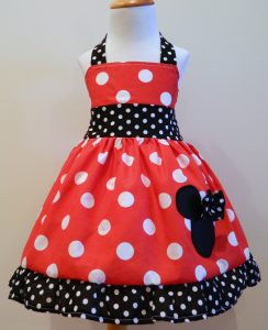 Minnie Mouse Dress Pattern