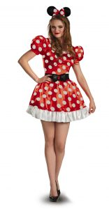 Minnie Mouse Red Polka Dot Dress