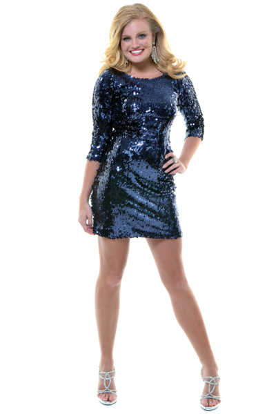Blue Sequin Dress  Dressed Up Girl