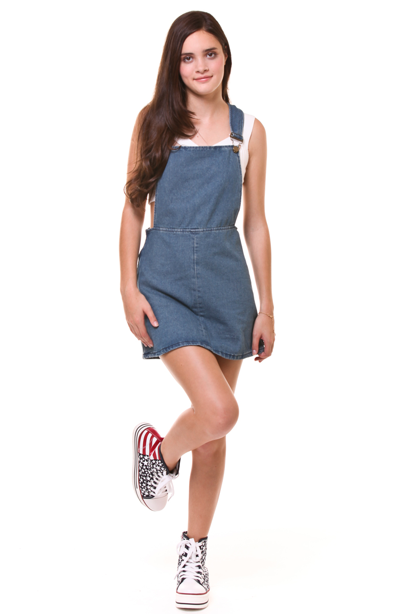 Shop for and buy denim overall dress online at Macy's. Find denim overall dress at Macy's.