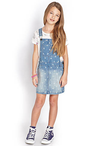 Overall Dress Dressed Up Girl