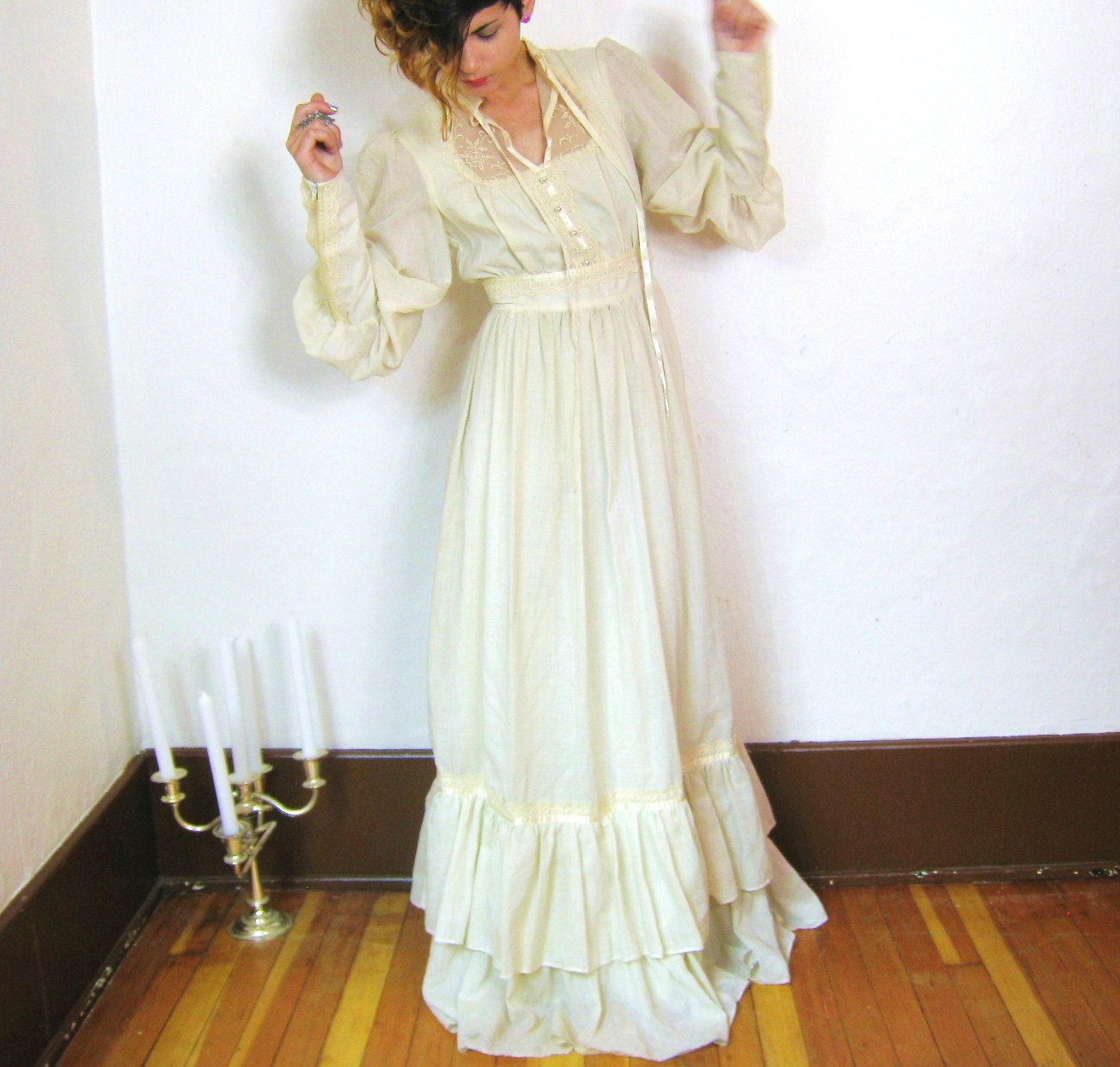 peasant dress peasant style wedding dress Peasant Wedding Dress