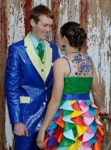Pictures of Duct Tape Dresses