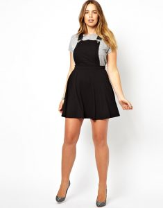 Pinafore Dress Women