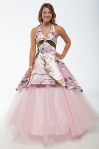 Pink Camo Dresses