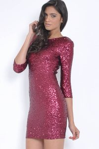 Pink Sequin Dresses