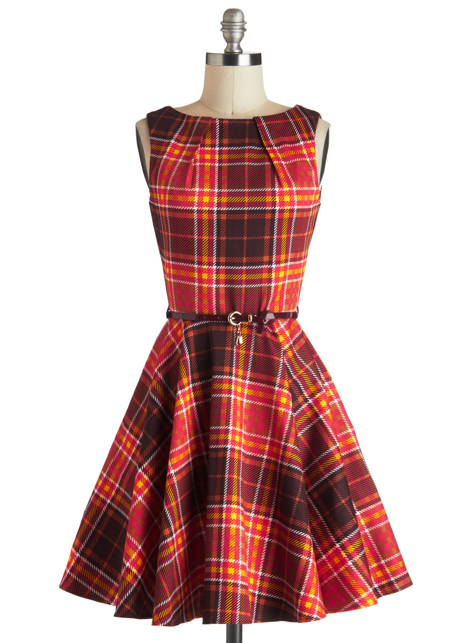 Plaid Dress Picture Collection Dressedupgirl Com