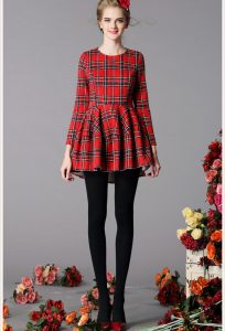 Plaid Dresses for Women