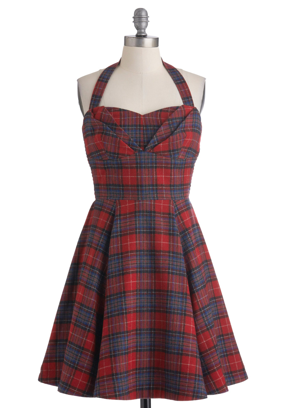 Plaid Shirt Dresses For Women