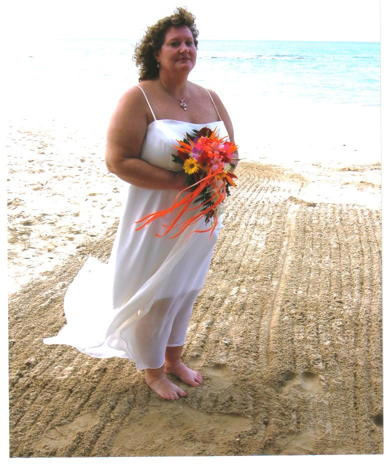beach wedding dress size 16