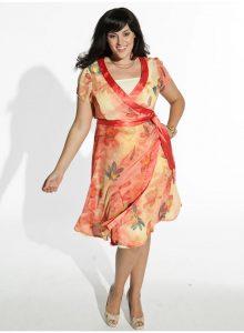 Plus Size Kimono Dress