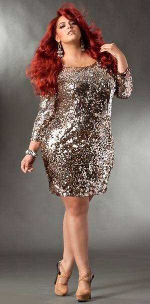 Plus Size Sequin Dress Dressedupgirl Com