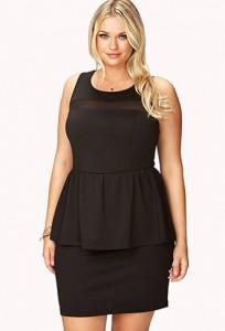 Plus Size Mesh Dress