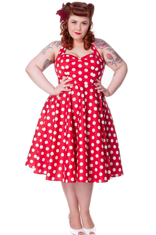 Red Polka Dot Dress Picture Collection | DressedUpGirl.com