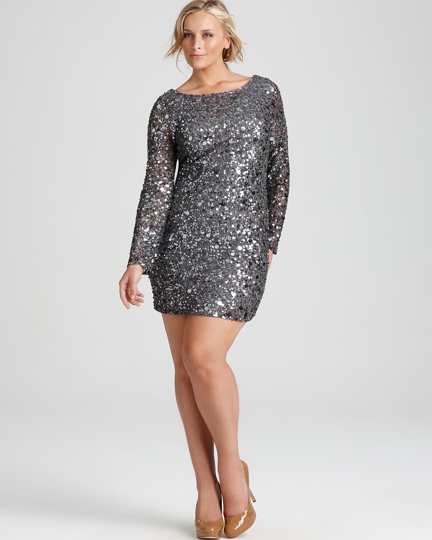 Plus Size Sequin Dress | DressedUpGirl.com