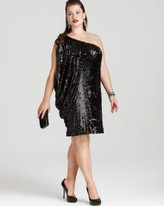 Plus Size Sequin Party Dresses