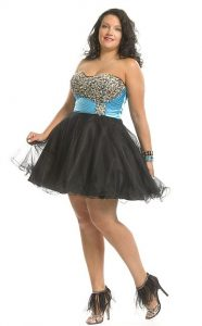 Plus Size Tulle Dress