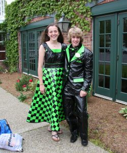Prom Dress Duct Tape