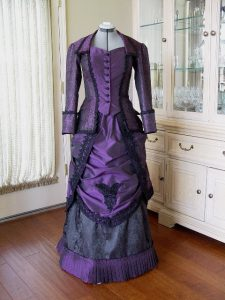 Purple Victorian Dress