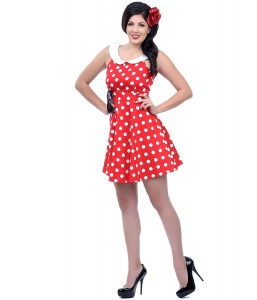 Red Polka Dot Dress Girls